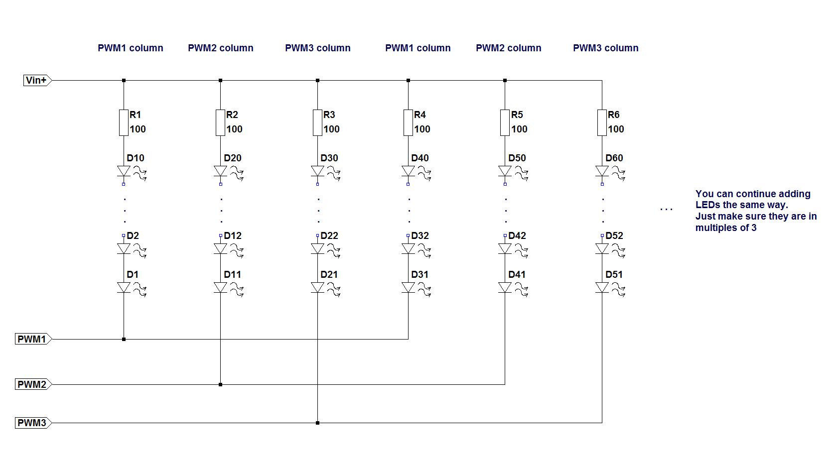 make christmas lights (part 2) microlab